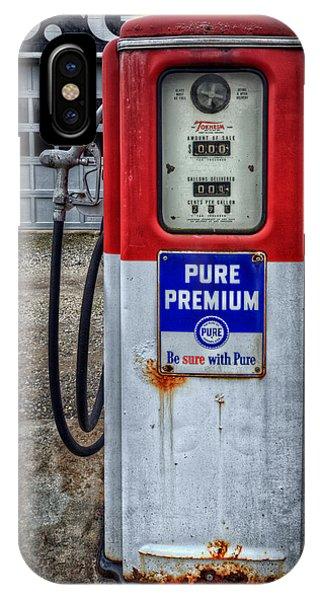 Old And Rustu Pump 2  IPhone Case