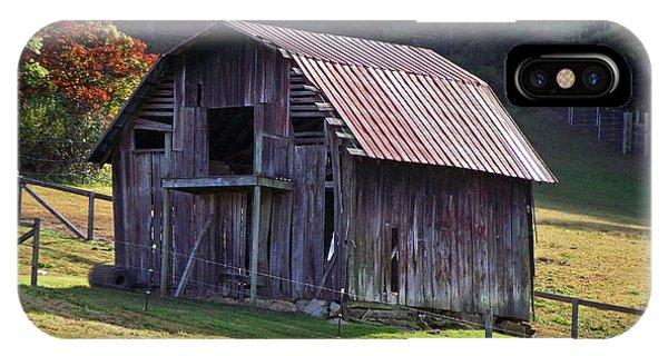 Old Barn In Etowah IPhone Case