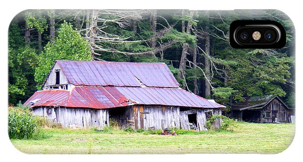 Old Barn Near Cashiers Nc IPhone Case