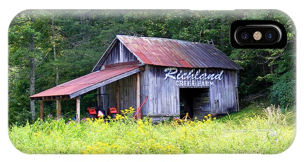 Old Barn Near Silversteen Road IPhone Case