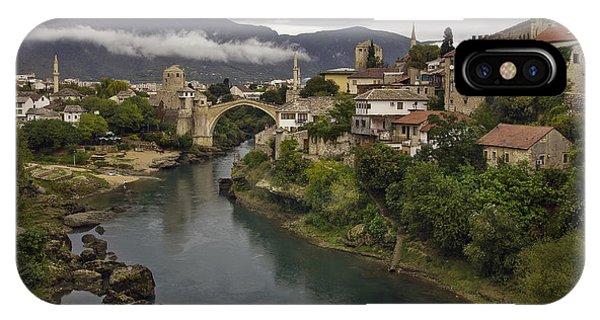 Mostar iPhone Case - Old Bridge Of Mostar by Ayhan Altun