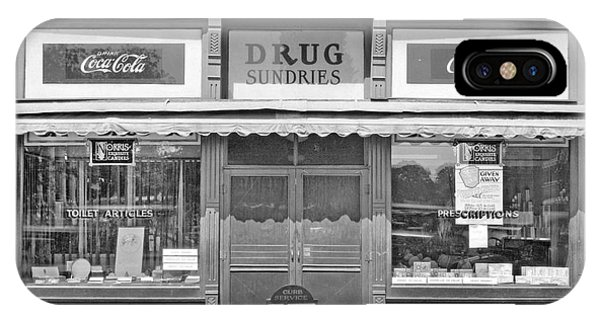 Old Drug Store Circa 1930 IPhone Case