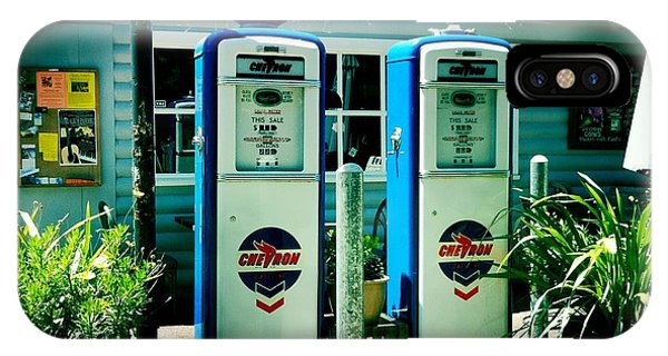 Old Fashioned Gas Station IPhone Case