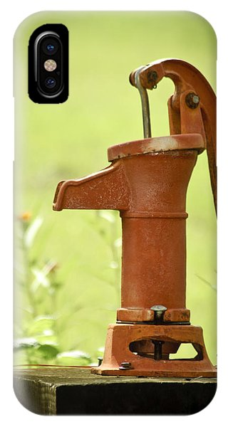 Old Fashioned Water Pump IPhone Case