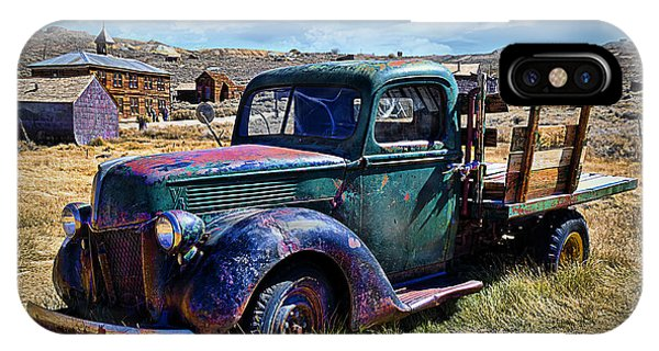 Old Ford V8 Truck IPhone Case