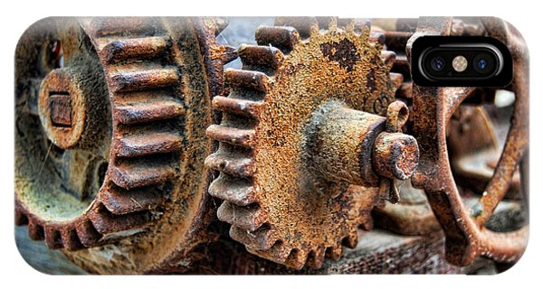 Old Gears IPhone Case