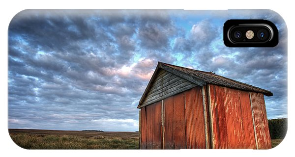 Moor iPhone Case - Old Hay Barn by Martin Williams