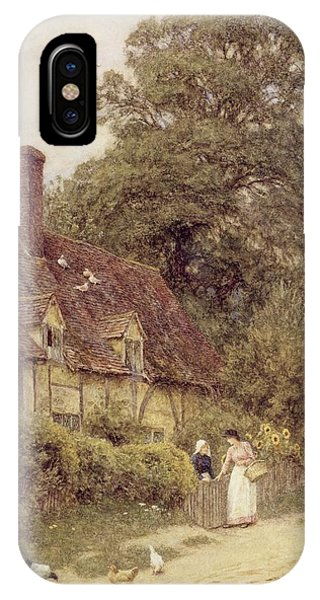 Old Post Office Brook Near Witley Surrey IPhone Case