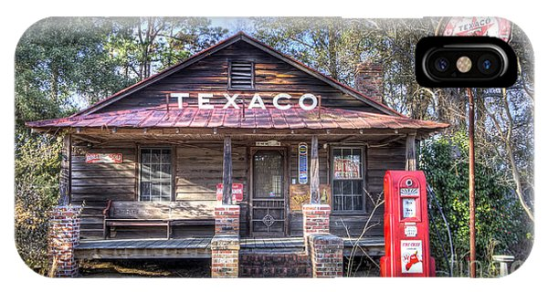 Gas Station iPhone Case - Old Texaco Service Station by Dustin K Ryan