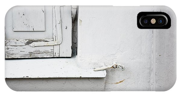 Old Window Shutters Detail IPhone Case