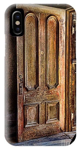 Old Wooden Door IPhone Case