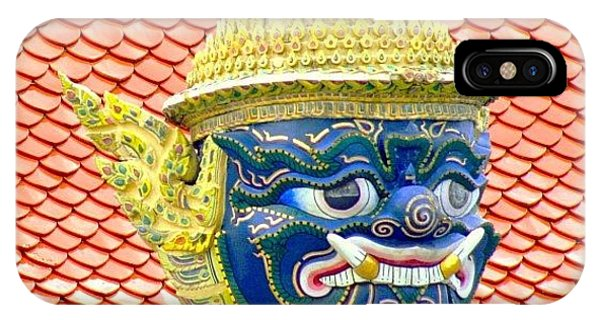 Travel iPhone Case - On Guard.. #thailand #travel by A Rey