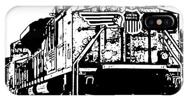 Transportation iPhone Case - On Iron Backbone II by James Granberry