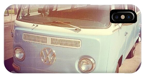 Vw Bus iPhone Case - On My Mourning Stroll 4 A Dutch #vw by Jose Perez