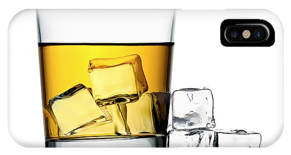Yellow iPhone Case - On The Rocks by Gert Lavsen