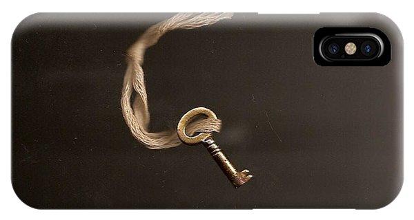Open Or Lock IPhone Case