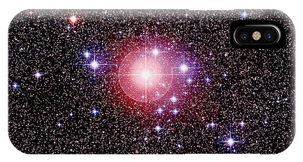Open Star Cluster Ngc 2451 Phone Case by Celestial Image Co.