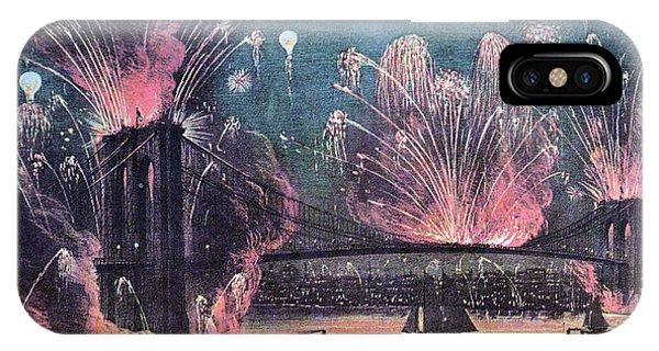 Opening Of Brooklyn Bridge Celebration IPhone Case
