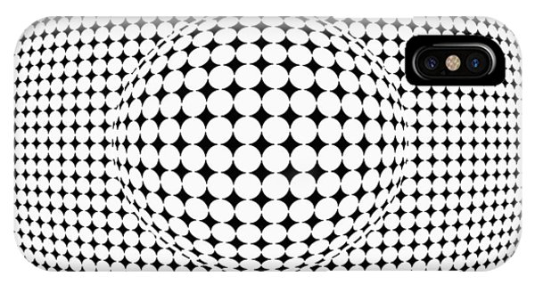 Optical Illusion Ball In Ball IPhone Case