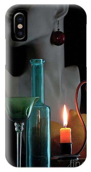 Orange Candle IPhone Case