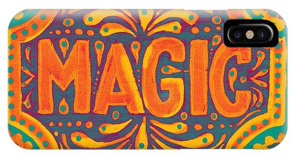 Orange Magic  IPhone Case