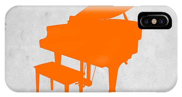 Orange Piano IPhone Case