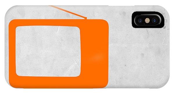 Orange Tv Vintage IPhone Case