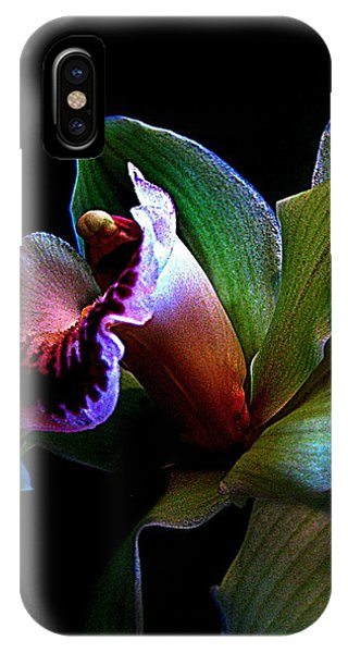 Orchid Gem IPhone Case