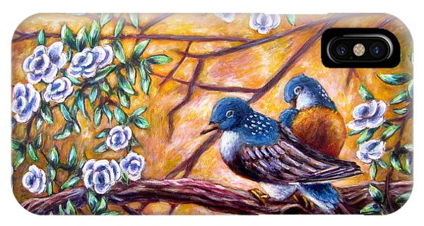 Oriental Birds IPhone Case