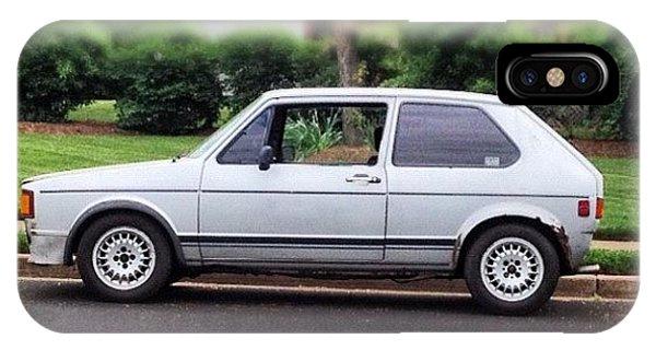 Volkswagen iPhone Case - Original. #cars #vw #volkswagen #golf by Simon Prickett