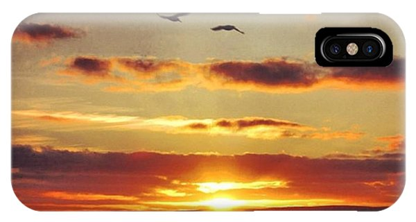 Sunset iPhone Case - Orkkney's Sunset by Luisa Azzolini