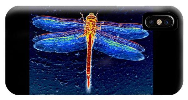 Ornate Odonata IPhone Case