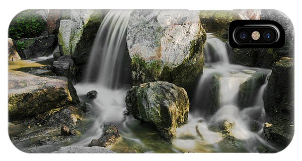 Osaka Garden Waterfall IPhone Case