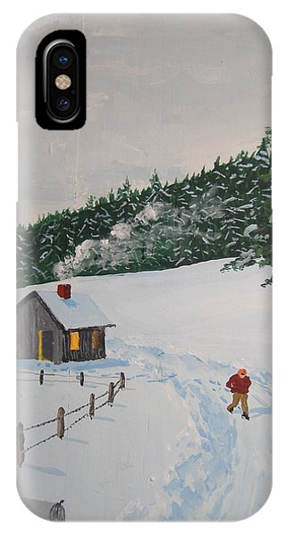Out To Get The Mail IPhone Case