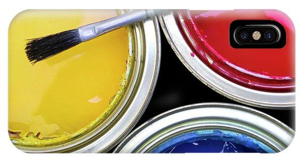 Paint Cans IPhone Case