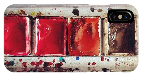 Watercolor iPhone Case - Paintbox by Nic Squirrell