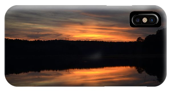 Lake Juliette iPhone Case - Painted Picture Perfect by Donna Brown