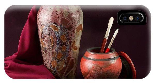 Painterly Pots IPhone Case