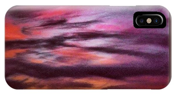 Fineart iPhone Case - Painterly Sunset by Paul Cutright