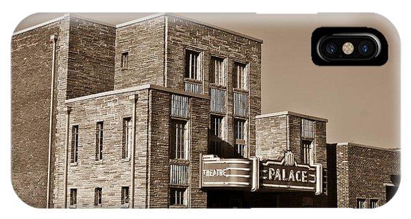 Crossville iPhone X Case - Palace Theater Crossville 5 by Douglas Barnett