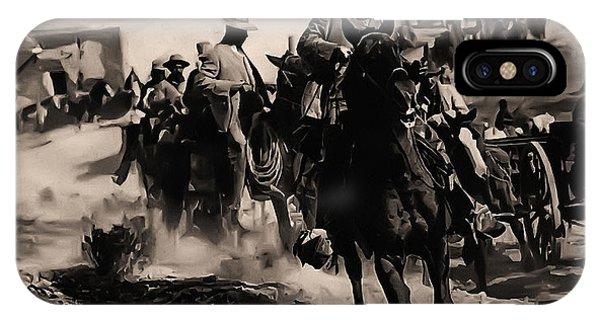Again iPhone Case - Pancho Villa Rides Again by Bill Cannon