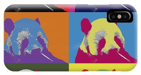 Panda Pop Art 2 IPhone Case