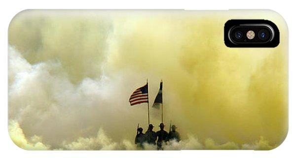 Panoramic Us Army Graduation IPhone Case