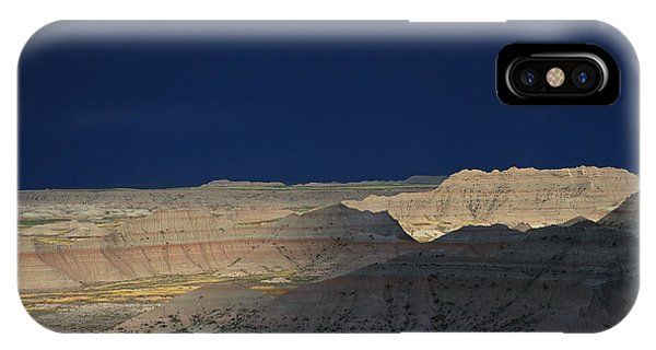 North Dakota Badlands iPhone Case - Panoramic View Of The Wall In South by Annie Griffiths