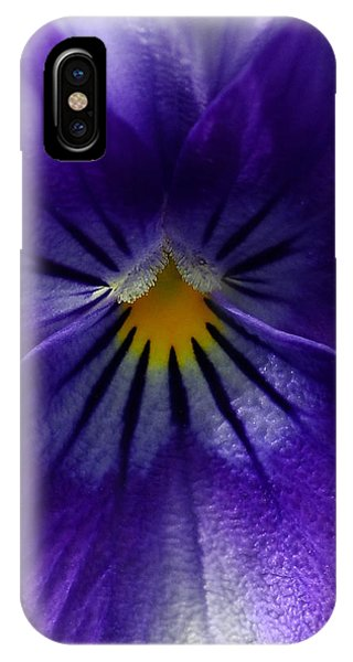 Pansy Abstract IPhone Case
