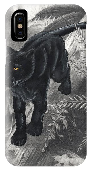 Panther By The Water IPhone Case