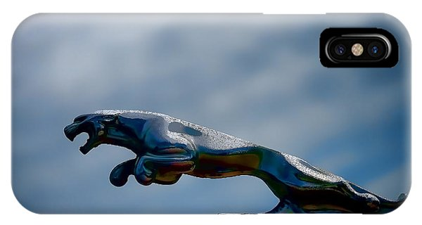 Chrome iPhone Case - Panther Hoodie by Douglas Pittman