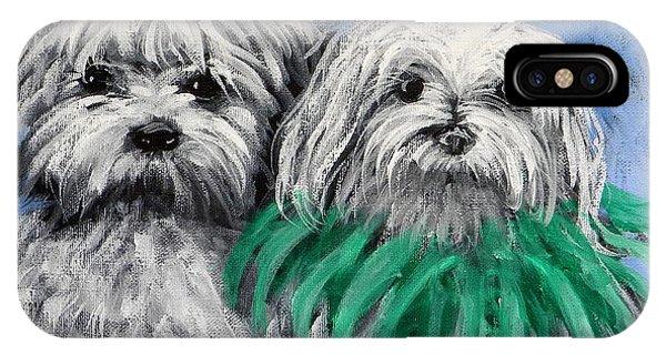 Parade Pups IPhone Case