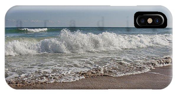 Tidal Waves iPhone Case - Paradise  by Betsy Knapp