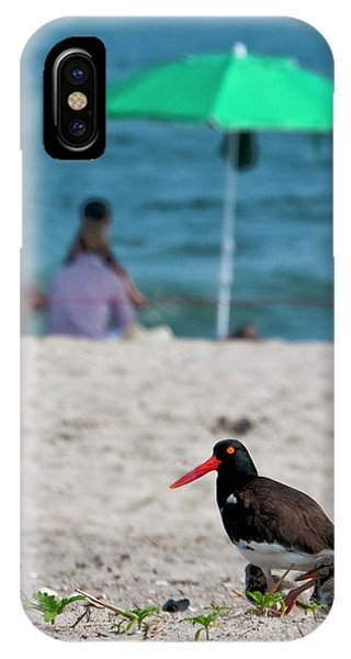 Parenting On A Beach IPhone Case